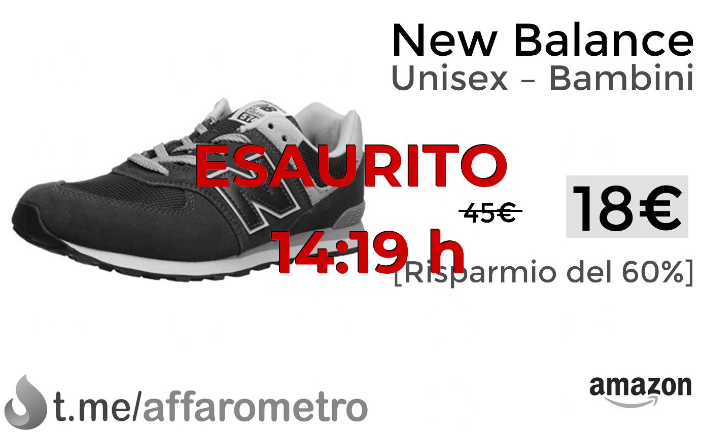 new balance bambina 18