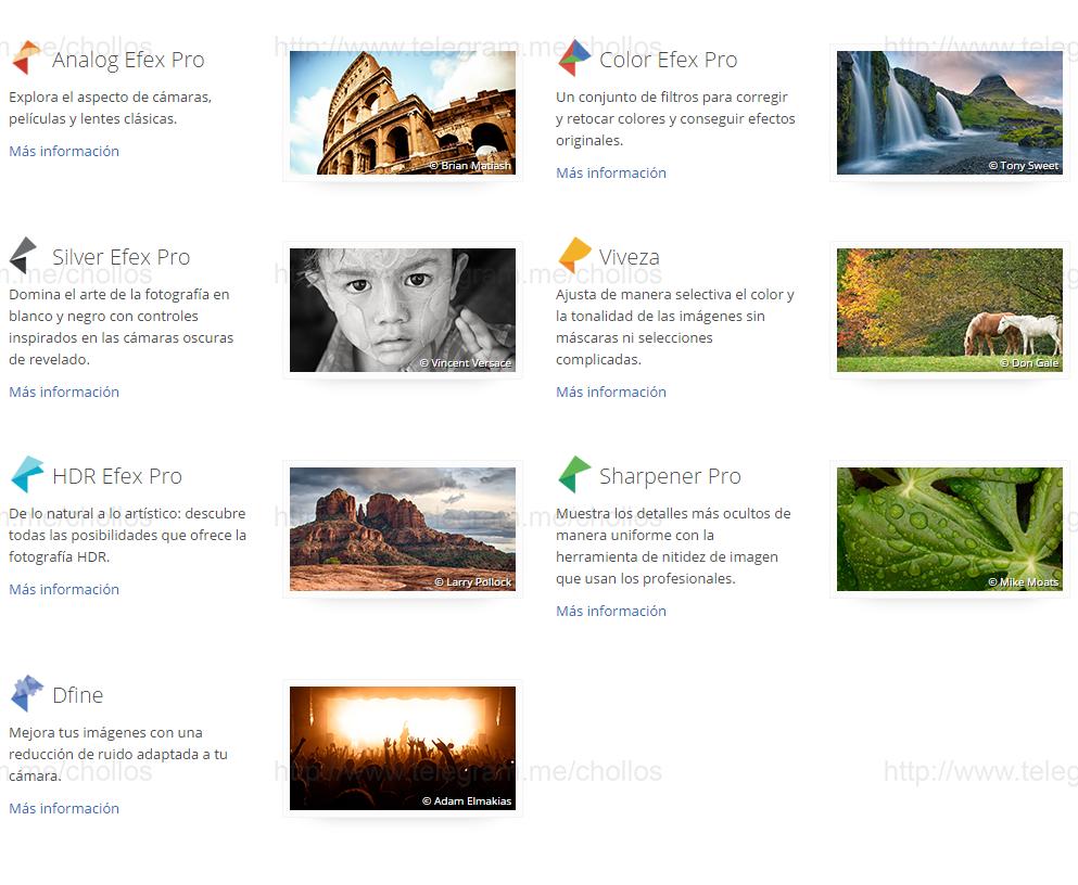 software-pc-mac, software Plugins NIK de Google para Photoshop y Lightroom gratis