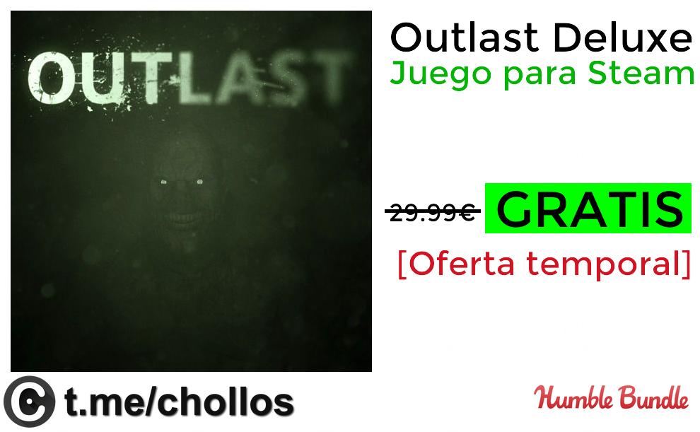 videojuegos-de-consola-xbox-playstation Outlast Deluxe Edition GRATIS